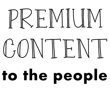 Premium Content